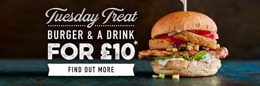 Tuesday Treat at Harvester Grays