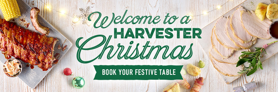 Christmas at Harvester Coed-Y-Gores