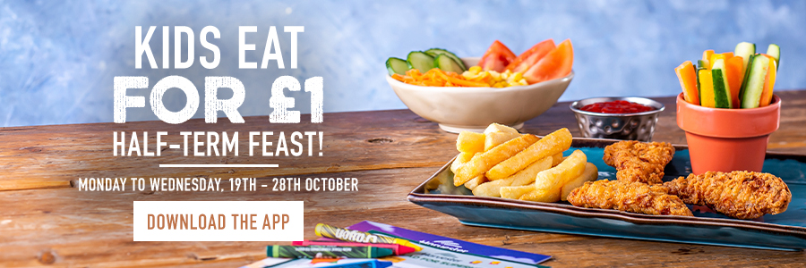 Kids eat for £1