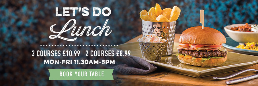 View our Lunch Set Menu at Harvester