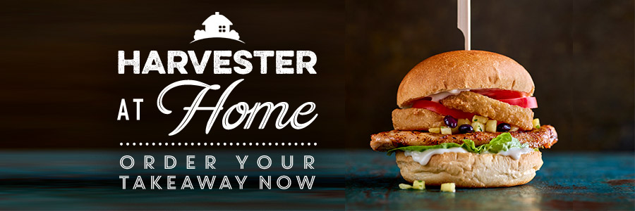 Check out our takeaway here at Harvester Salt Cellar in Middlewich
