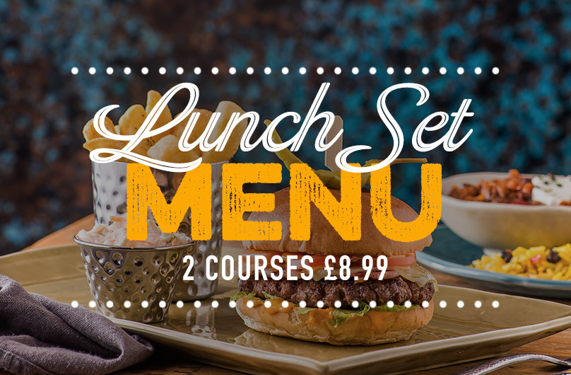 Lunch Set Menu at Harvester The O2