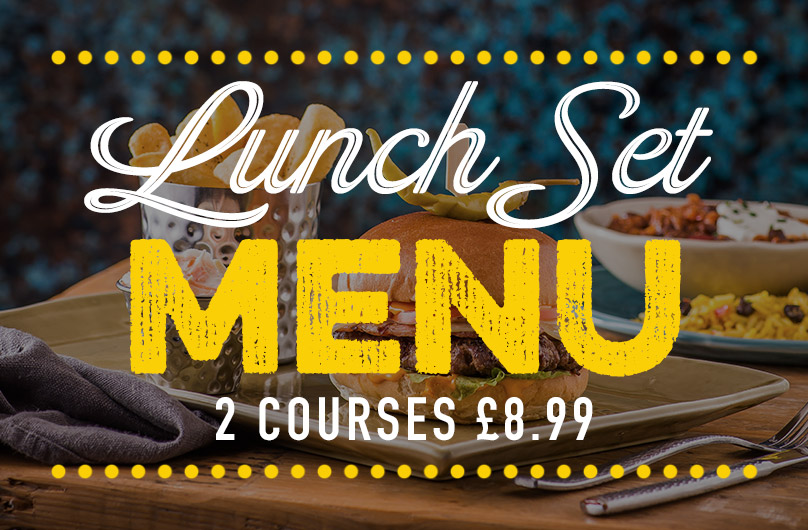 Lunch Set Menu at Harvester Didcot