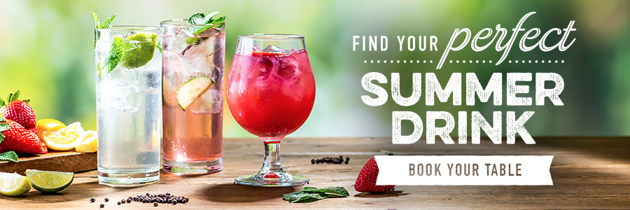 Summer Drinks at Harvester