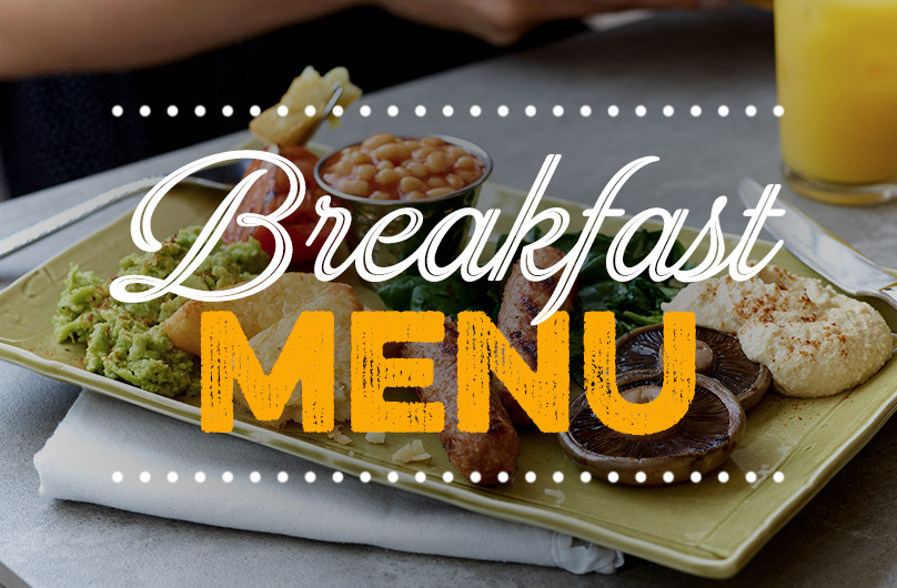 The new Breakfast Menu at Harvester Trentham Lakes