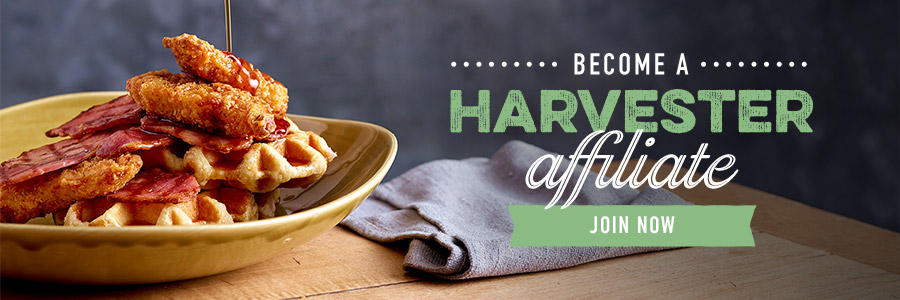 Become a Harvester affiliate