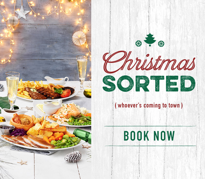 Book now for Christmas at The Unicorn