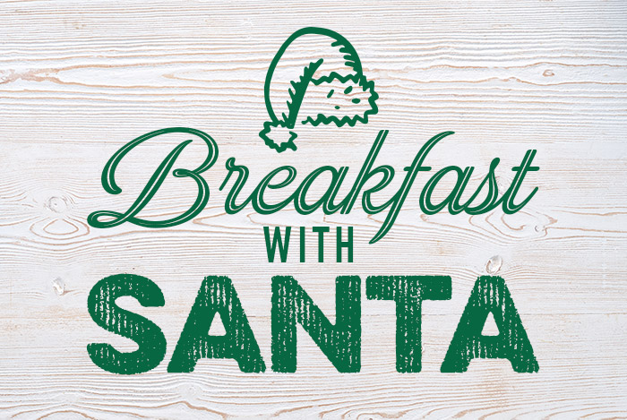 Book now for Breakfast with Santa at Harvester this Christmas