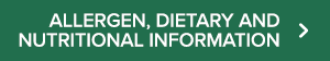 Allergen, dietary and nutritional information