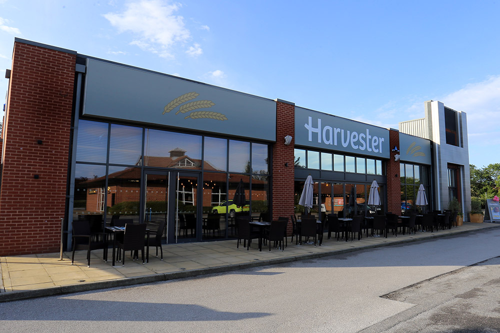 Beer Garden at Harvester Clifton Moor