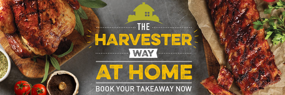 Order your Harvester takeaway online now