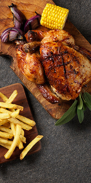 Fresh cooked takeaway food at Harvester restaurants