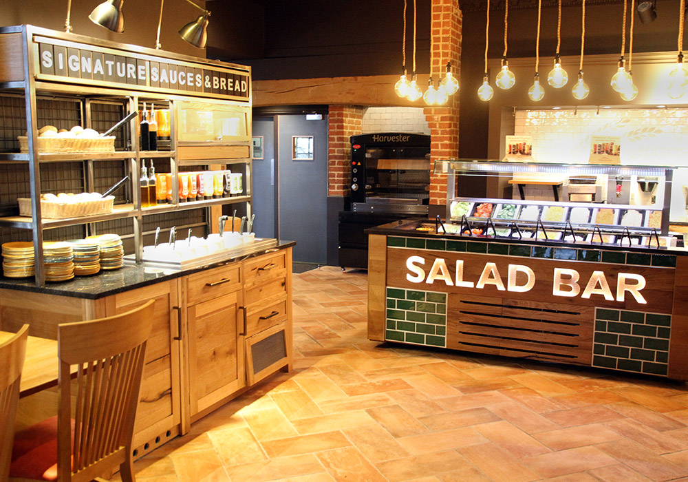 Harvester Salad Bar