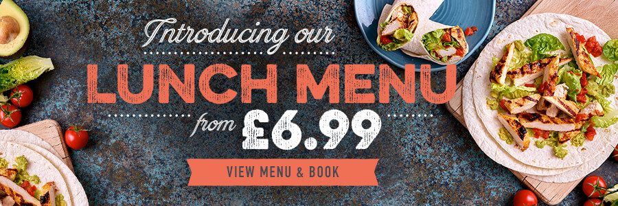 Lunch from £6.99 at Perdiswell
