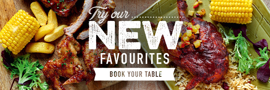 Check out our fresh new menu here at Harvester Moto in Castle Donnington