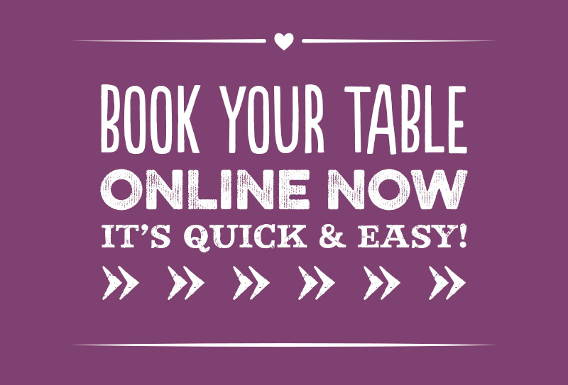 Book your table online now