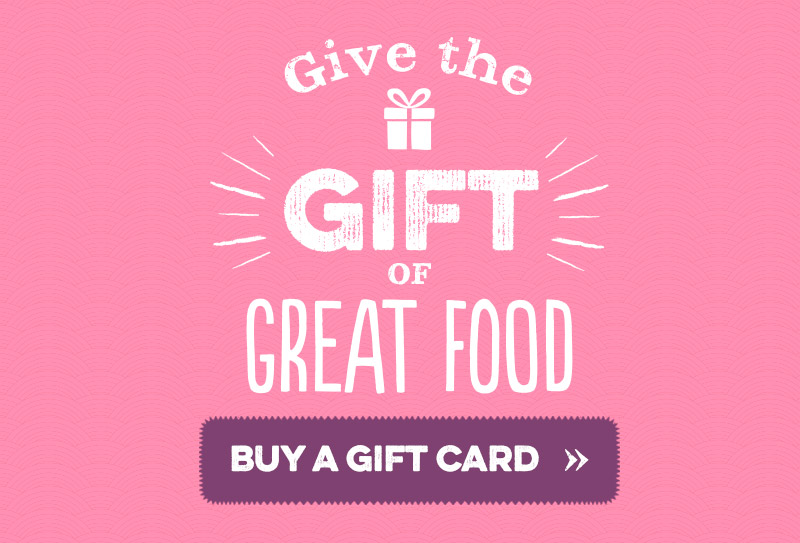 Give the gift of great food