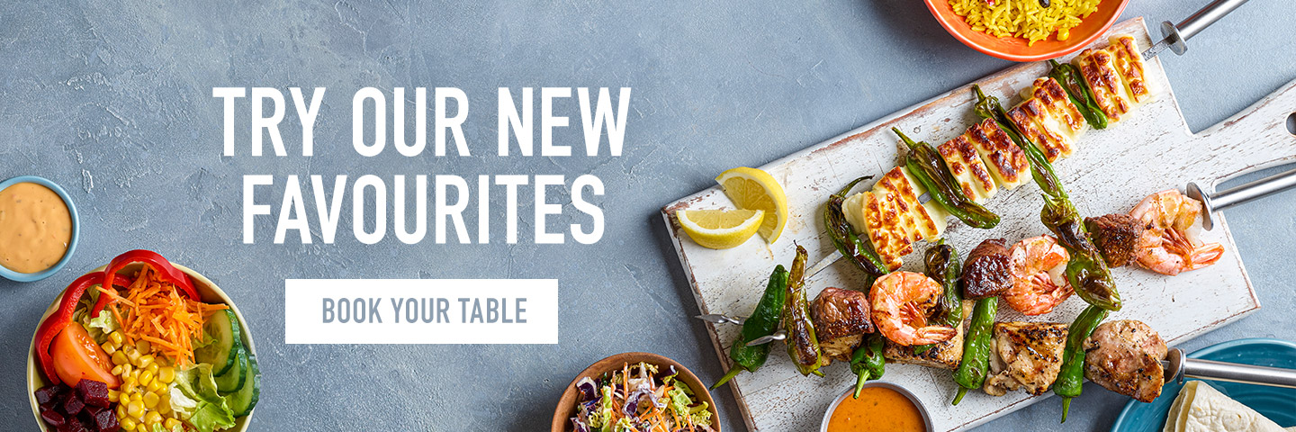 Book a table at Harvester
