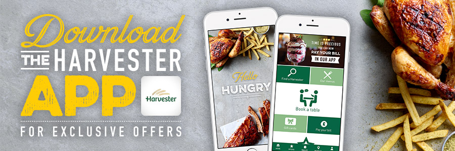 The Official Harvester App Has Landed