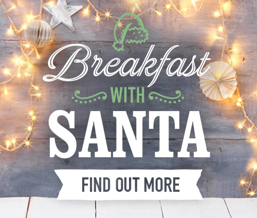 Breakfast with Santa at Harvester