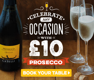 Fizz Friday - Book your table now