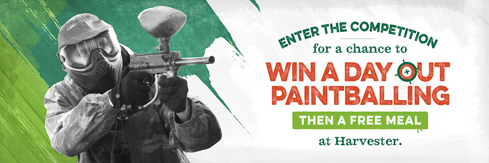 Win a day out paintballing