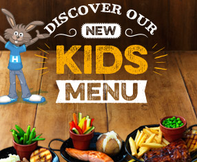 Discover our new kids' menu