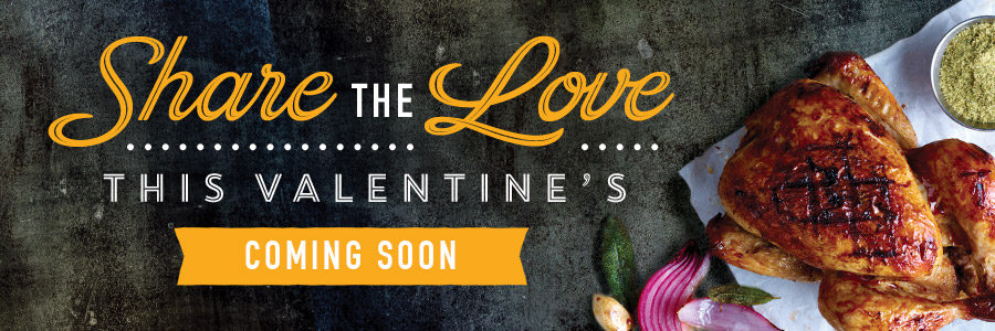 Book now for Valentine's Day 2019 at Harvester Weston Gateway