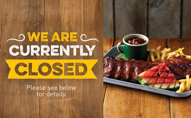 Harvester Bassetts Pole is currently closed